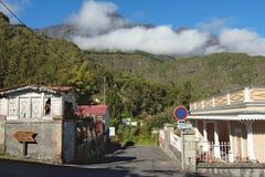 Calle de la aldea del Infierno-Bourg Fotografía de archivo libre de regalías