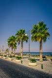 Calle de la bahía en Chipre Fotos de archivo
