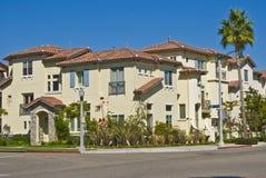 Calle de la casa de California Imagen de archivo