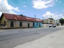 Calle de la ciudad de Bolivar, Venezuela, Fotografía de archivo