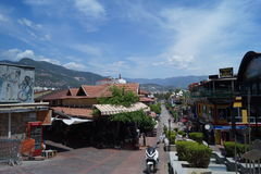 Calle de la ciudad de Alanya, Turquía fotografía de archivo libre de regalías