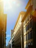 Calle de la ciudad de Art Old fotos de archivo libres de regalías