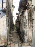Calle de la ciudad de George en el centro Fotos de archivo libres de regalías
