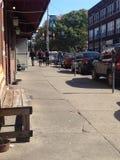 Calle de la ciudad universitaria fotografía de archivo