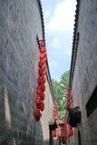 Calle de la cultura de China Jinli Fotos de archivo