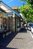 Calle de la galería Fotografía de archivo