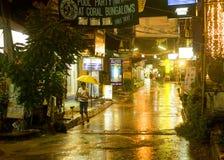 Calle de la noche Fotografía de archivo libre de regalías