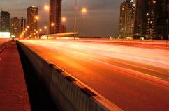 Calle de la noche Foto de archivo