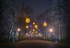 Calle de la Nochebuena Foto de archivo
