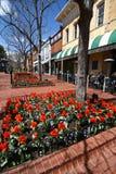Calle de la perla - Boulder, Colorado Fotos de archivo