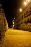 Calle de la Ronda. In Cartagena de Indias at Night Stock Photo
