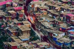 Calle de la universidad de Wuming Buda Imagen de archivo libre de regalías