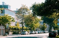 Calle de la vecindad Imagen de archivo