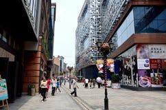 Calle de las compras Fotos de archivo libres de regalías