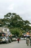 Calle de las compras en Arusha Fotografía de archivo libre de regalías