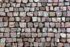 Calle de las piedras de pavimentación Imagen de archivo libre de regalías