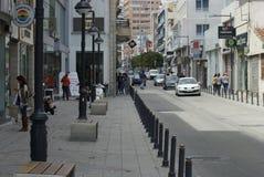 calle de Limassol Chipre foto de archivo libre de regalías