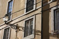 Calle de Lisboa Foto de archivo libre de regalías