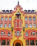Calle de Lodz, Piotrkowska Imagen de archivo