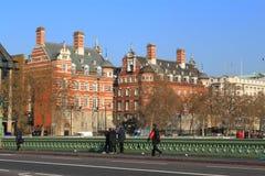 Calle de Londres Foto de archivo