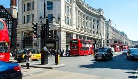Calle de Londres Imágenes de archivo libres de regalías