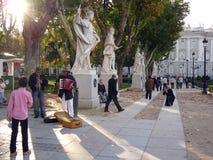 Calle de los músicos en Oriental cuadrado Foto de archivo libre de regalías