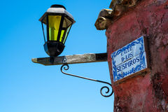 Calle de los Suspiros in Colonia Royalty Free Stock Photo