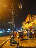 Calle de Malioboro Foto de archivo