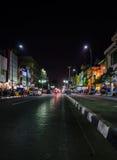 Calle de Malioboro imagen de archivo