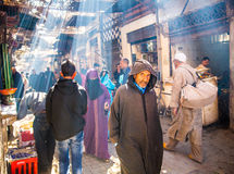 Calle de Marrakesh Fotos de archivo