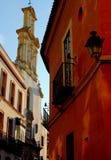 Calle de Mateos Gago, Sevilla, Andalucía, España foto de archivo libre de regalías