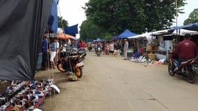 Calle de mercado Fotos de archivo libres de regalías