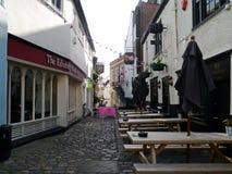 Calle de mercado en Windsor Berkshire England Fotografía de archivo libre de regalías