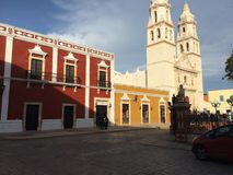 Calle de Mexico. Culture, colors, structure Royalty Free Stock Photography