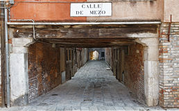 Calle de Mezo Stock Photos
