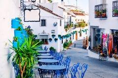 Calle de Mijas Fotos de archivo