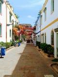 Calle DE Mogà ¡ n royalty-vrije stock afbeeldingen