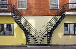 Calle de Montreal Imagen de archivo