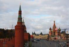 Calle de Moscú Foto de archivo libre de regalías