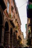 Calle de Napoli Fotografía de archivo libre de regalías