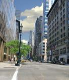 Calle de New York City Imágenes de archivo libres de regalías