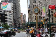 Calle de New York City Fotos de archivo