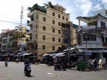 Calle de Nha Trang Fotos de archivo libres de regalías