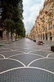 Calle de Nizami Imagenes de archivo