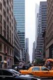 Calle de Nueva York fotografía de archivo