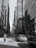 Calle de Nueva York foto de archivo libre de regalías