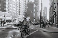 Calle de Nueva York fotos de archivo