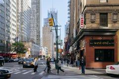 Calle de Nueva York imagenes de archivo