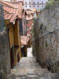 Calle de Oporto Foto de archivo