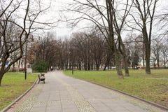 Calle de Panska en Varsovia Imagen de archivo libre de regalías